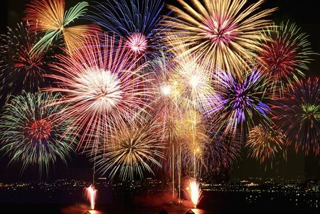 Feuerwerk Standard-Bild - 46276894