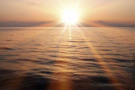 amanecer: Amanecer del lago Biwa