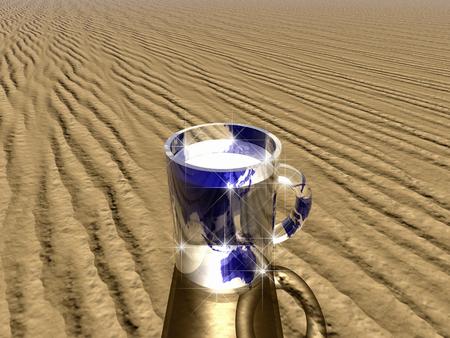 desertification: Water