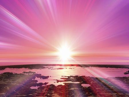 Sunrise Zdjęcie Seryjne