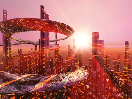 city of sunrise: Future cities