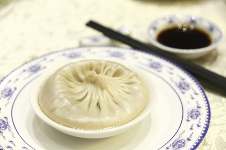 bao: Dim Sum cuisine Tang Bao Tanpao Stock Photo