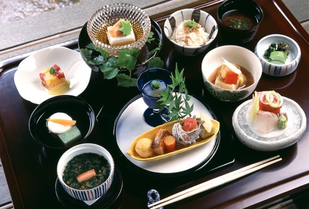 japanese style: Kaiseki cuisine