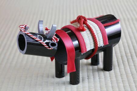 sanyo: Saku-shu cattle Stock Photo