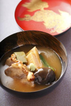 jib: Boiled jib Kaga cuisine