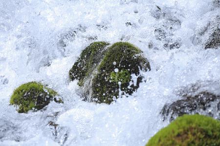 mountain stream: Mountain stream snowmelt