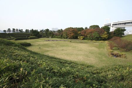 the historical: Odaiba historical landmark park