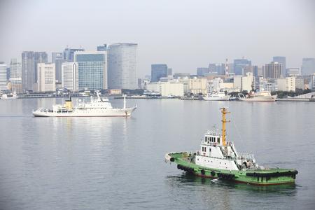 Tugboat: Tokyo Port tugboat