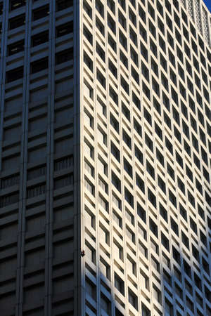 high rise building: High rise building window wall