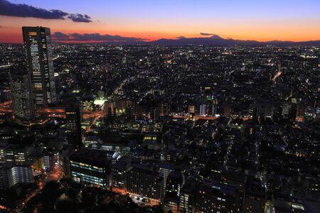 afterglow: Nishi sunset afterglow panorama