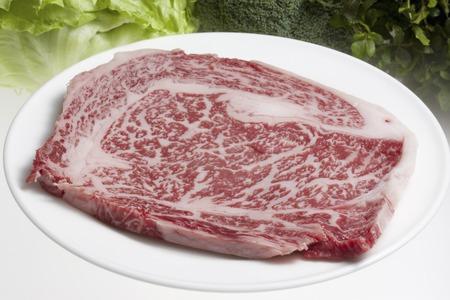 cold storage: Japanese beef sirloin Stock Photo