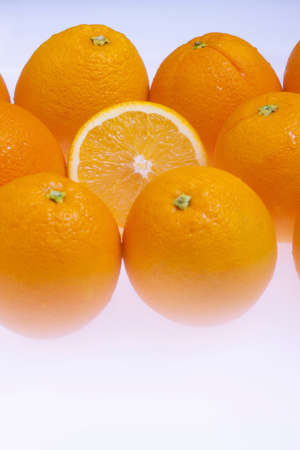 cold storage: Orange