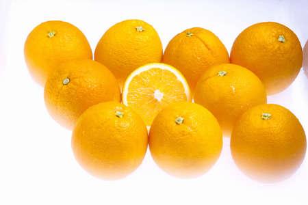 dry provisions: Orange