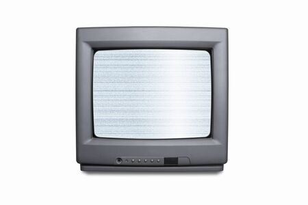 electric material: CRT-based television Stock Photo
