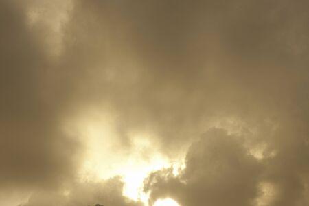 golden  gleam: Evening sky