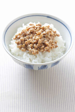 frugality: Natto rice