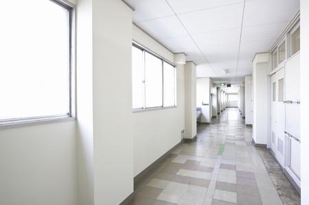 Corridor of school