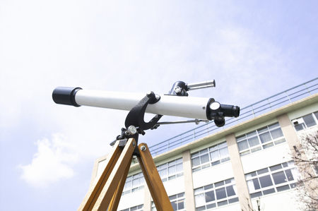 astronomical: Astronomical telescope Stock Photo