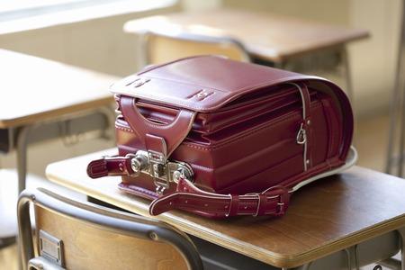 School bags Banque d'images