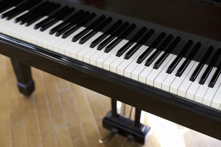 introspection: Piano keyboard Stock Photo