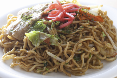 chow: CHOW Mein Stock Photo
