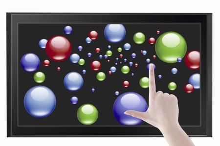 fingertip: Touch panel