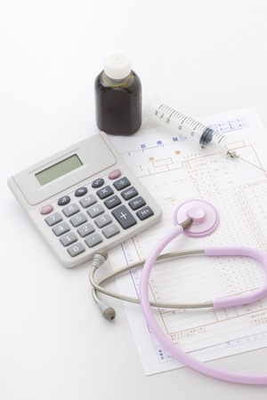 hospital expenses: Medical Stock Photo