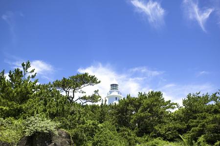saki: Nojima Saki lighthouse Stock Photo