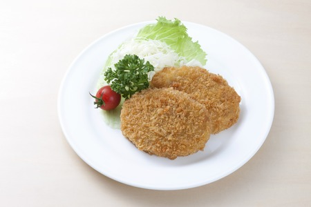 old fashioned vegetables: Croquettes