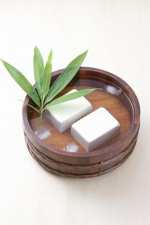 cold: Cold tofu Stock Photo