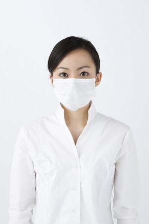 Female mask photo