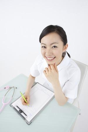 medical record: Nurses medical record writing