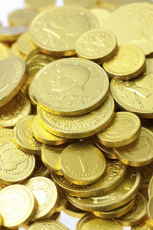 and gold: Gold coins