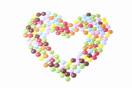 heartshaped: Heart-shaped chocolate