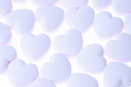 heartshaped: Heart-shaped candy