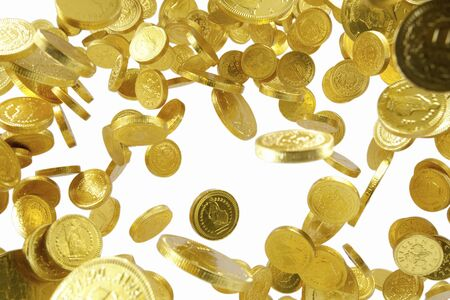 international crisis: Gold jumps up Stock Photo