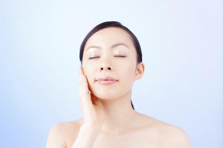 Women keep the cheeks