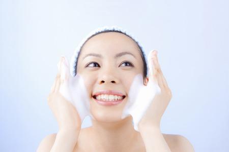 Women facial 写真素材