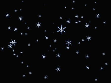 Snow Crystal Stock Photo