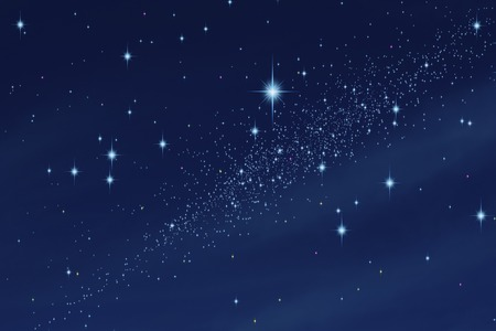 Image of sky: Starry sky