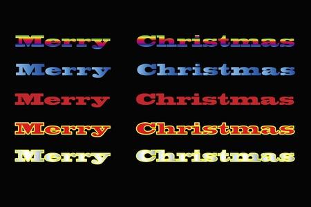 material: Christmas material