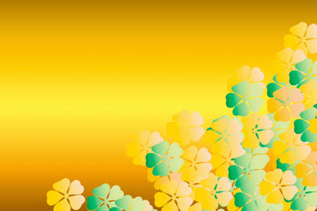 composite material: Flower pattern Stock Photo