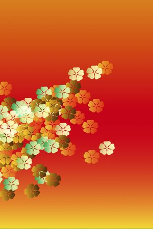 Flower pattern photo