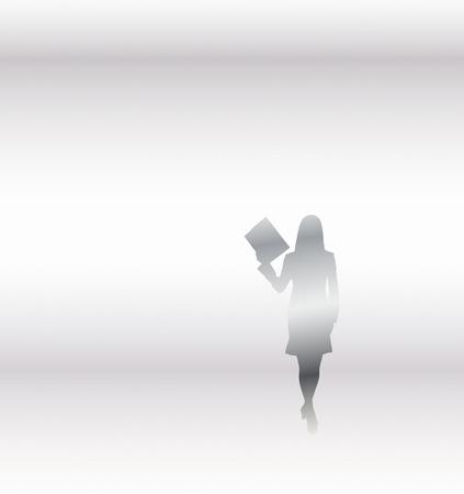 ol: OL silhouette Stock Photo