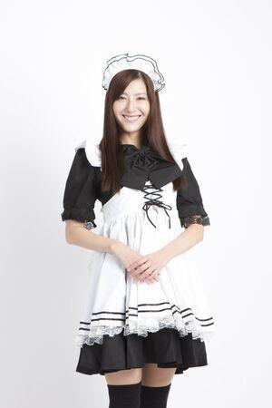 human being: Maid cosplay