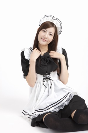 grown up: Maid cosplay