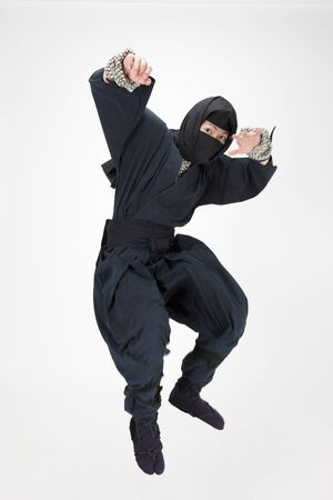 ninja method: Ninja Stock Photo
