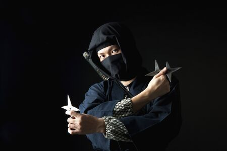 human being: Ninja Stock Photo