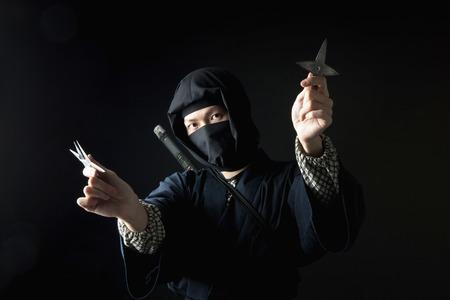lad: Ninja Stock Photo