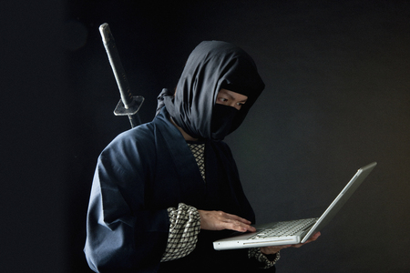 Using Laptop ninja